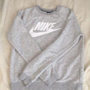 Nike Heather Grey Crewneck